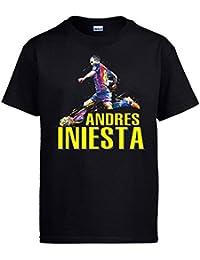 8b90c23869 Diver Bebé Camiseta Andrés Iniesta
