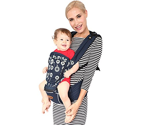 Kiddale Ergonomically Designed Baby Carrier(Sling) With Baby Head Protector,Hip Seat & Shoulder Strap To Give Extra Comfort (Upto 20Kg) & Parents