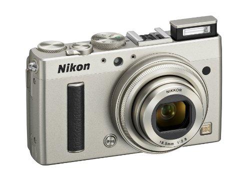 Nikon Coolpix A Digitalkamera (16 Megapixel, 7,6 cm (3 Zoll) LCD-Display, 28mm Weitwinkelobjektiv, Lichtstärke 1:2,8, Full HD Video) titan silber - 5