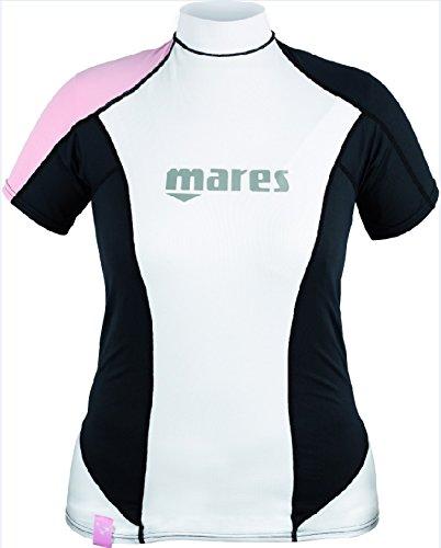Mares Damen Tauchanzug Rash Guard Short Sleeve Loose Fit She Dives Pink