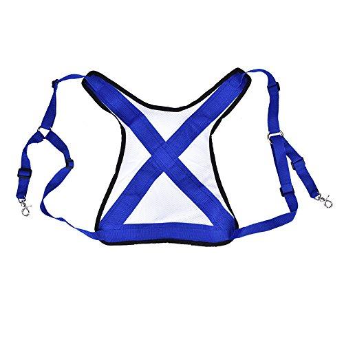 Asixx Angeln Schwimmweste, Ultralight Angeln Weste Gürtel oder Fliegenfischen Weste, Jugend Angeln Weste Zwei Schnallen Schnallen, perfekte Ausrüstung für Angler (Angeln Kajak Schwimmweste)