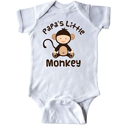 Huahai Papas Little Monkey Boys Funny Infant Creeper Monkey Infant Bodysuit