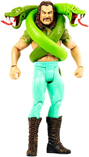 Mattel FMH34 WWE Monster Figur Jake The Snake Roberts, 15 cm