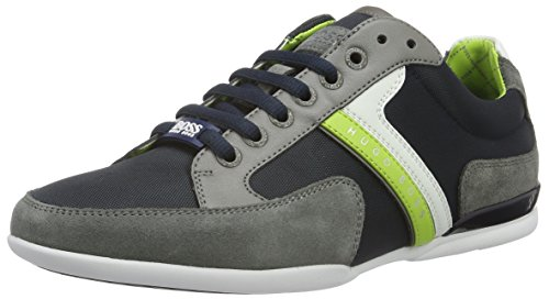BOSS Green Spacit 10167195 01, Sneakers basses homme Multicolore (Open Blue 470)