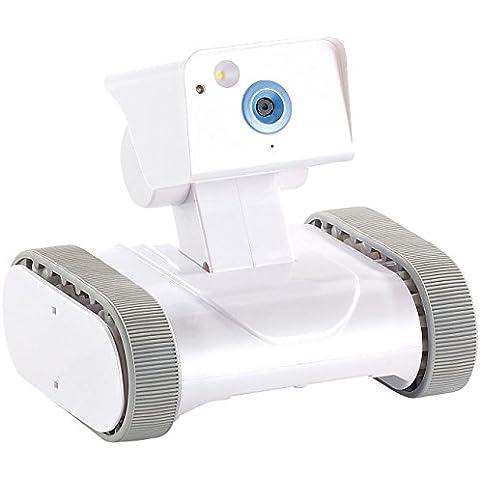 7links Home Security Rover HSR-1 - Cámara de seguridad para el hogar, con HD vídeo, control remoto