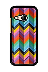 Caseque Triangle T Back Shell Case Cover for HTC One M8 Mini