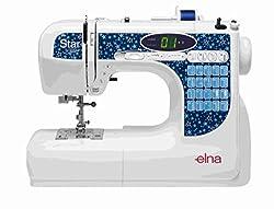 Nähmaschine ELNA Star Edition - Freiarm - Einfädler - LED - Nadelpositionierung
