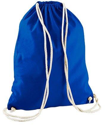 Jutebeutel Turnbeutel Sportbeutel Stofftasche Baumwolltasche Tasche Rucksack Gymsack Sei immer du Selbst, ausser du kannst ein Einhorn sein (Schwarz) Royal