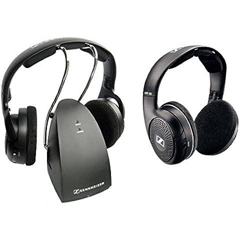 Sennheiser RS 119 - Auriculares de diadema cerrados inalámbrico (con transmisor audio, 3.5 mm), negro
