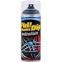 FullColors CAL006 Pintura Pinzas de Freno, Negro Metalizado, 400 ml
