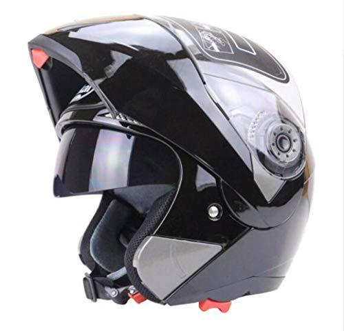 OLEEKA Casco moto doppio visiera Casco modulare copricasco per motocross Race Doppia lente capacete Caschi da moto