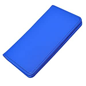 DCR Pu Leather case cover for XOLO A510s (blue)