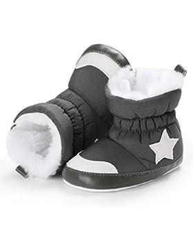 Martin Snow Boots Schuhe Jamicy® Herbst Winter Warme Sterne Zipper Hoch Wasserdichte Dicker Baumwolle Fluff Haken...