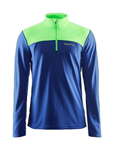 Craft Herren Sportpullover Shift Free Halfzip atlantic