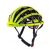 Cathy02Marshall Casco Moto Casco De Bicicleta Plegable Ligero Casco De Ciudad Cascos Multiuso De Seguridad Deportiva Bike Cycling Helmet