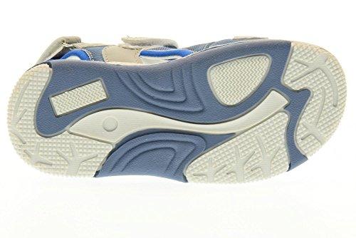 SUPERJUMP COLLEZIONE AMERICA chaussures bébé SJ2974 sandales VICTOR BLUE JEANS Blu Jeans