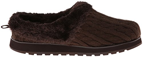 Skechers - Keepsakes Delight Fall, Pantofole Donna Chocolate