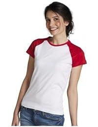 SOL'S Damen Kontrast T-Shirt Milky