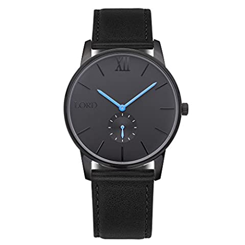 Lord Timepieces Solitude Black Blue (Lord Of The)