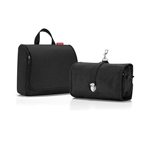 * * Besondere Set * * Reisenthel WB7003Wrapcosmetic & WO7003Toiletbag XL–schwarz