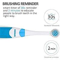 A267-W Cuidado bucal recargable por ultrasonidos con cepillo de dientes eléctrico y USB