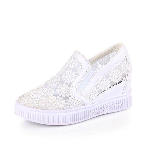 Lady modèle creux et chaussures basses au printemps/Étudiants de Joker pour le feuillet version coréenne a augmenté en chaussures de sport A