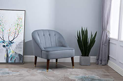 Birlea, Alexa Fabric Chair, Grey Best Price and Cheapest