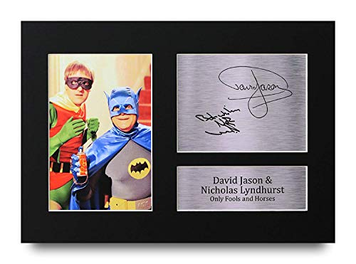 Del Boy and Rodney Batman and Robin Signed Printed Autograph Gift
