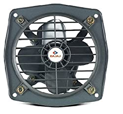 Bajaj Bahar 2200RPM Domestic Exhaust Fans(Steel, Metallic Grey)