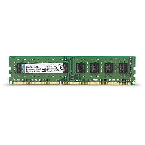 Kingston ValueRam - Memoria RAM DDR3 de 8 GB (1333 MHz, CL9 DIMM)