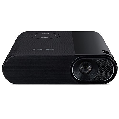 Acer C200 Proiettore, Risoluzione 480p, Contrasto 2000:1, Luminosità 200 ANSI, Connessione HDMI/MHL, Nero