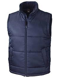 Resultado R208X Core chaleco acolchado para mujer, Liso, Unisex, color azul marino, tamaño X-Large