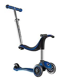 globber free 4 en 1 trottinette 3 roues bleu gris sports et loisirs. Black Bedroom Furniture Sets. Home Design Ideas