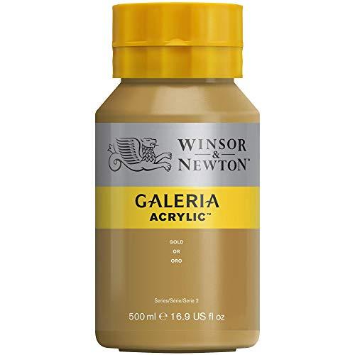 Winsor & Newton Galeria Colore Acrilico 500ml - Oro
