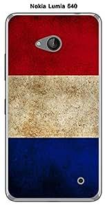 Coque Drapeau France vintage pour Nokia Lumia 640