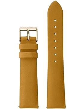 Cluse Damen Uhrenarmband La Bohème Leder Braun CLS055