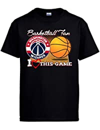 Camiseta NBA Washington Wizards Baloncesto Basketball fan I Love This Game