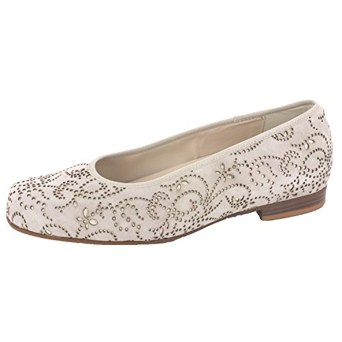 Semler DESIREE D2528650762 Damen Slipper Beige x6zSdqgDQo