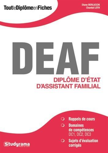 Tout le Diplome d'Etat d'Assistant Familial