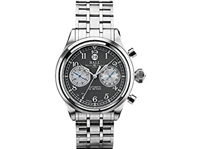 Ball Trainmaster Cannonball Watch, Ball RR1401, Grey, Steel bracelet