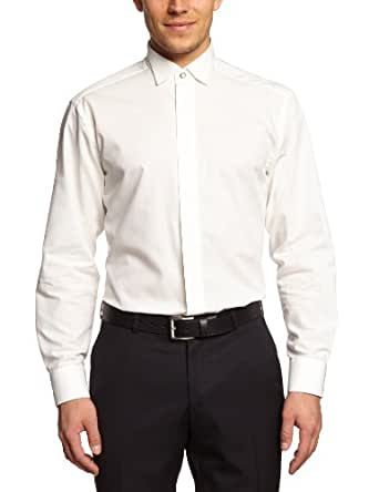 CASAMODA Herren Regular Fit Business Hemd 005345, Gr. Kragenweite: 38, Beige (beige 62)