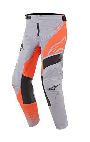 Alpinestars Youth Racer Supermatic Jugend Motocross Hose Grau/Orange 26 -