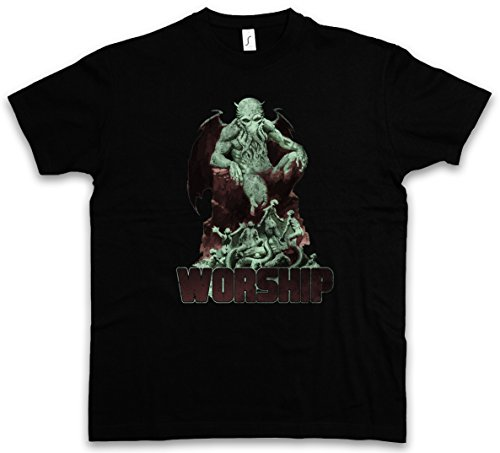 Urban Backwoods Cthulhu XIII T-Shirt - Taglie S - 5XL Nero