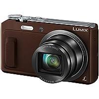 Panasonic LUMIX DMC-TZ58EG-T Travellerzoom Kamera (16 Megapixel, 20x opt. Zoom, 3-Zoll LCD-Display, Full HD, WiFi, 24 mm Weitwinkel-Objektiv) braun