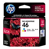 HP 46 Tri-color Original Ink Advantage C...