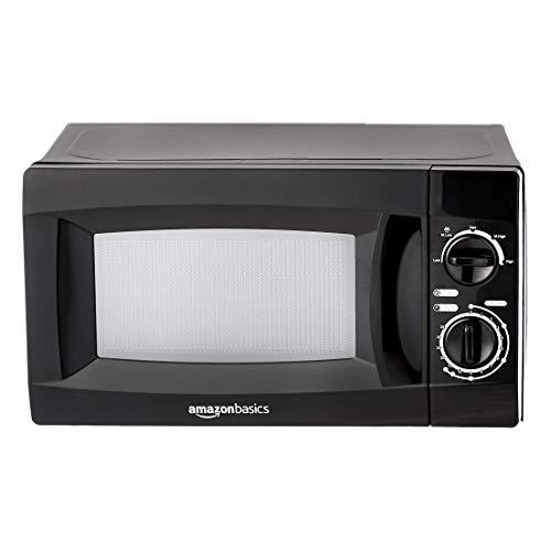 5. AmazonBasics 20 L Solo Microwave (Black)