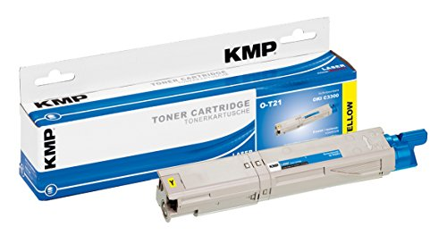 Preisvergleich Produktbild KMP Toner für OKI C3300, O-T21, yellow