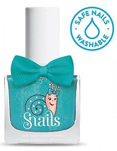 SNAILS Splash Lagoon Vernis à l'Eau Bleu Turquoise 10,5 ml