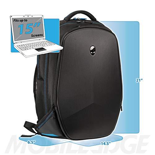 Mobile Edge Alienware 15 Inch Black Vindicator 2.0 Casual Backpack Image 6