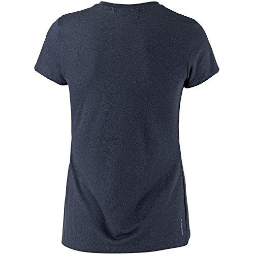 North Face Damen T-Shirt W Reaxion Amp Crew Eu urban navy heather